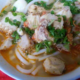 bánh canh ở Nha Trang