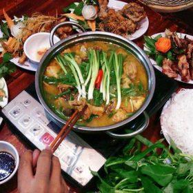 quán vịt om sấu ngon Hà Nội