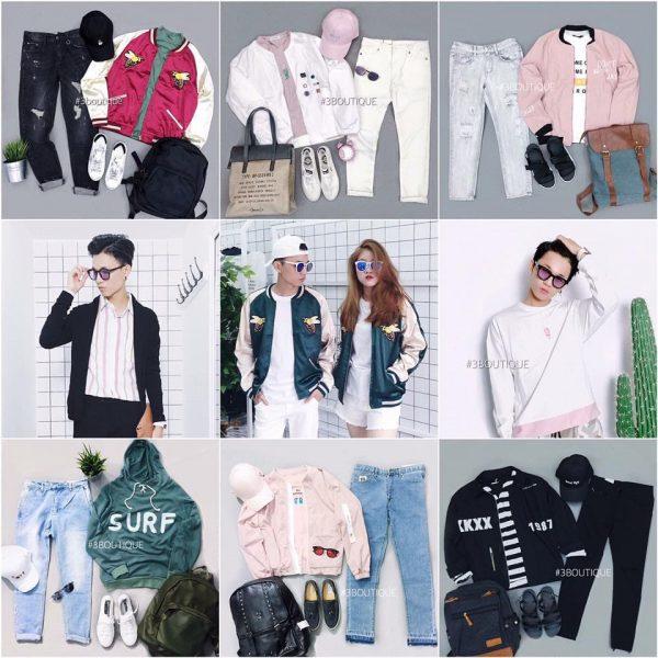 Ôm lô hàng quần áo nam nữ giá sỉ